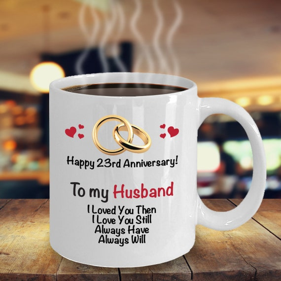 23rd Anniversary Gift Ideas For Husband 23rd Wedding Etsy