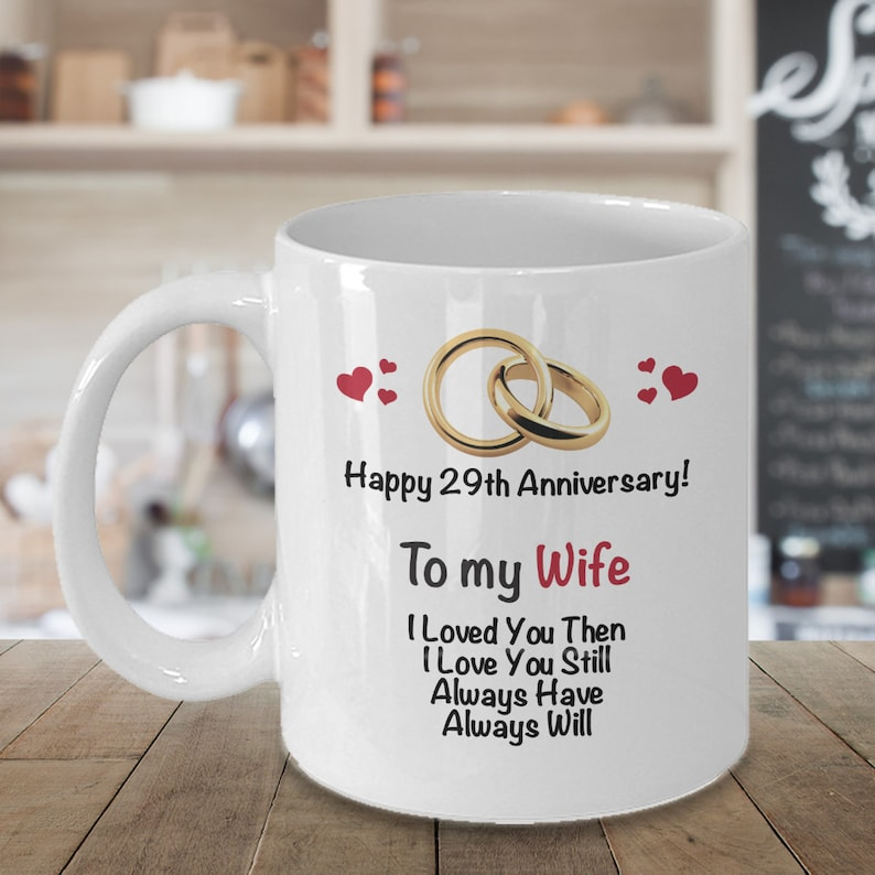 88908342 29th Anniversary Gift Ideas For Wife 29th Wedding Etsy
