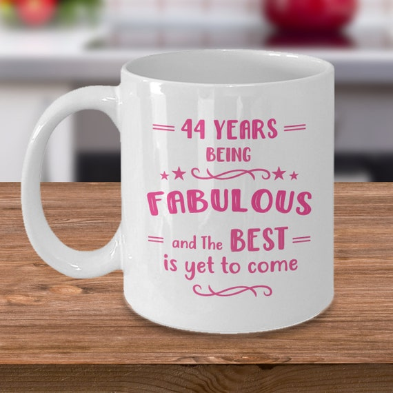 44th Birthday Gifts For Women Gift Ideas 44