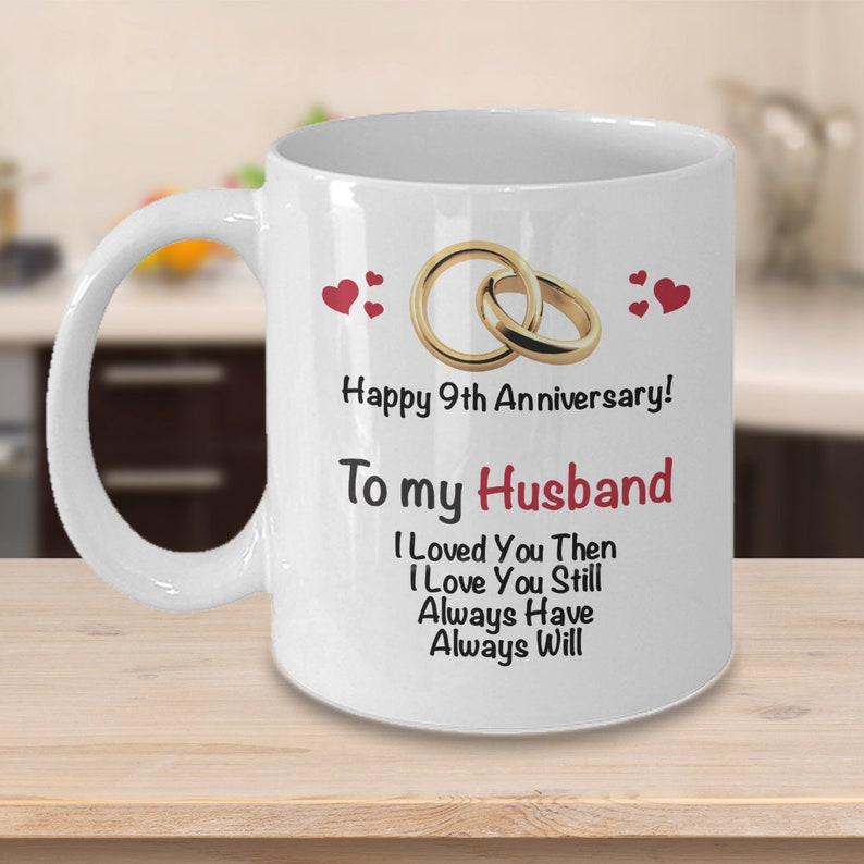 9th Anniversary Gift Ideas For Husband 9th Wedding Anniversary Gift