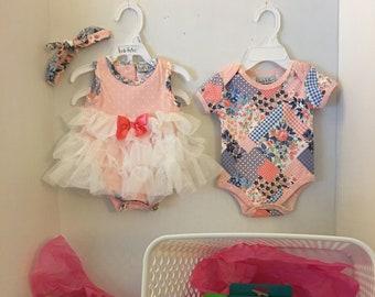 Baby Girl Shower Basket - Little Beginnings