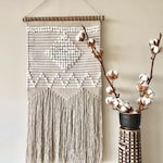 Neutral wall hanging decor