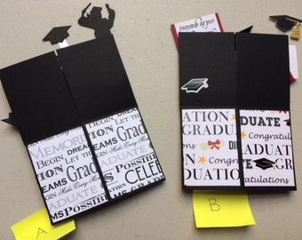 Card-in-a-Box Graduation Cards