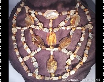 Makkeda ( Statement Necklace set )