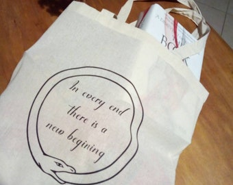 Ouroboros shopping bag