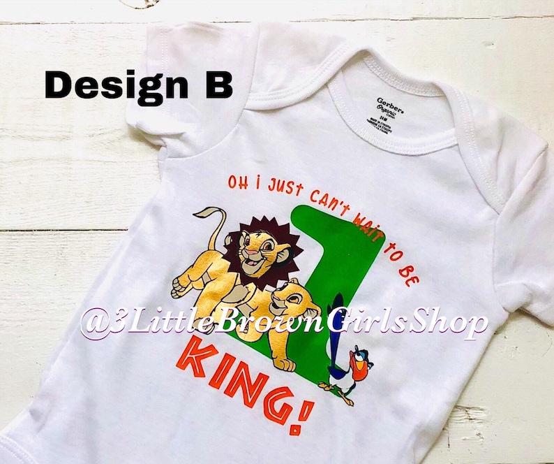 Lion Inspired Birthday Shirt