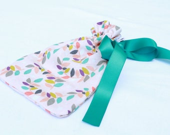 """Colorful Leaves Drawstring Pouch(4""""x6"""")"""