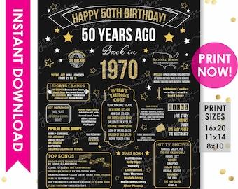50th Birthday Party Etsy,Breaded Chicken Breast In Air Fryer