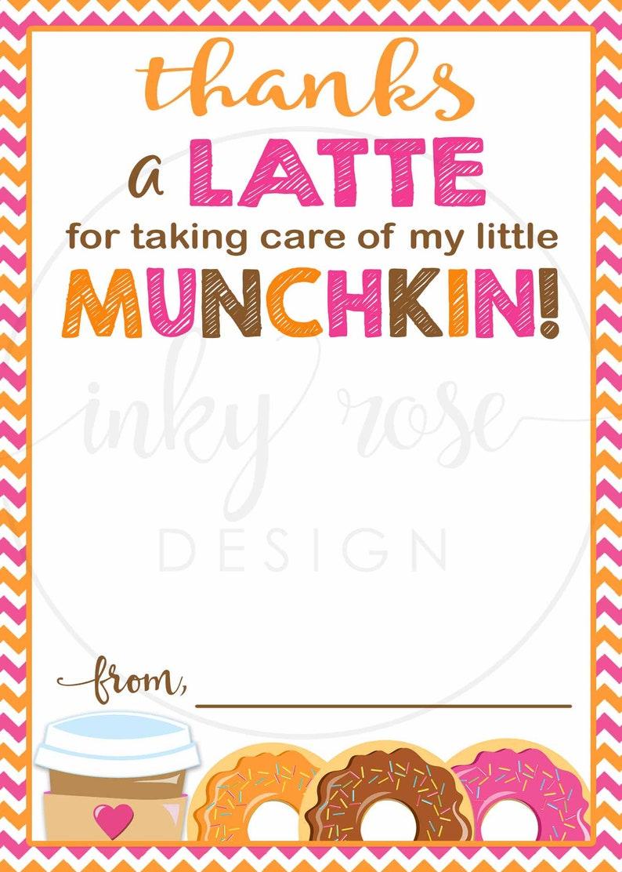 Dunkin Donuts Teacher Appreciation Gift Card Holder ...