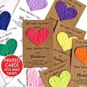 24 Valentine Exchange Cards With Knot Bracelets