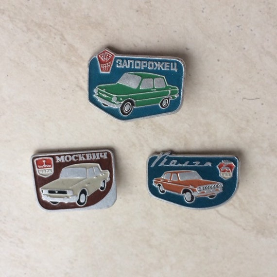 pins auto auto collection soviet badges badges with auto retro cars truck retro auto Badges with cars pins cars car