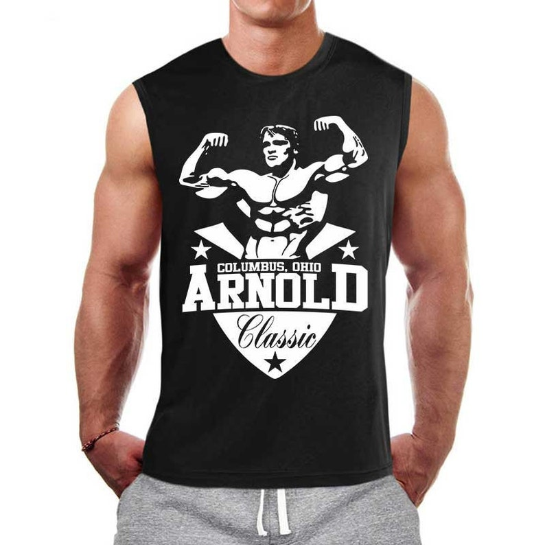 6e8f2965f87775 Arnold Classic Gym Shirt for Men Gym Tank Top Workout Tank