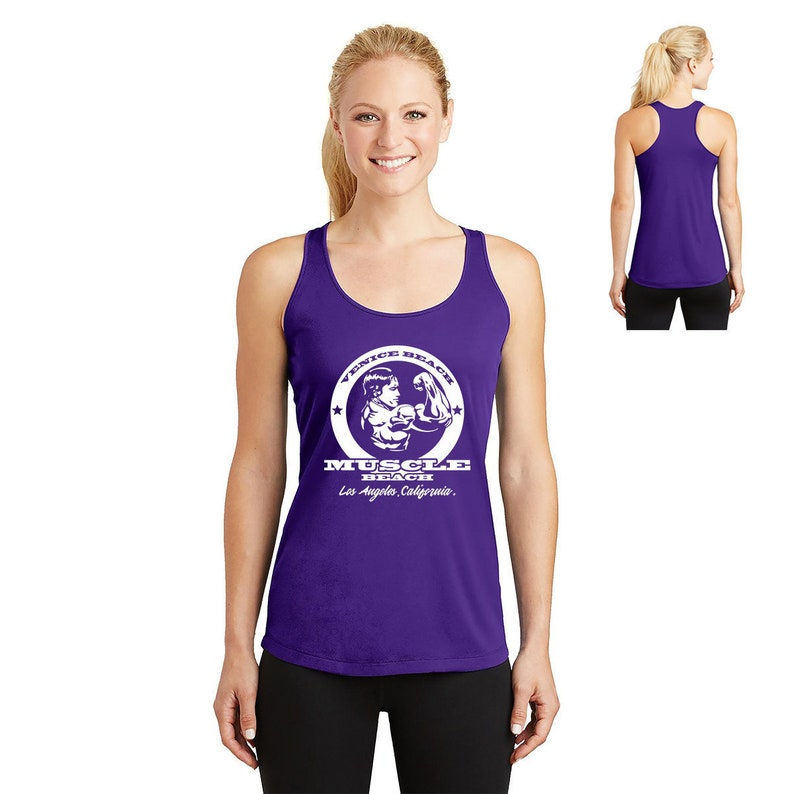 e6dc2f64 Venice Beach Muscle Beach Arnold Schwarzenegger Gym Shirts | Etsy