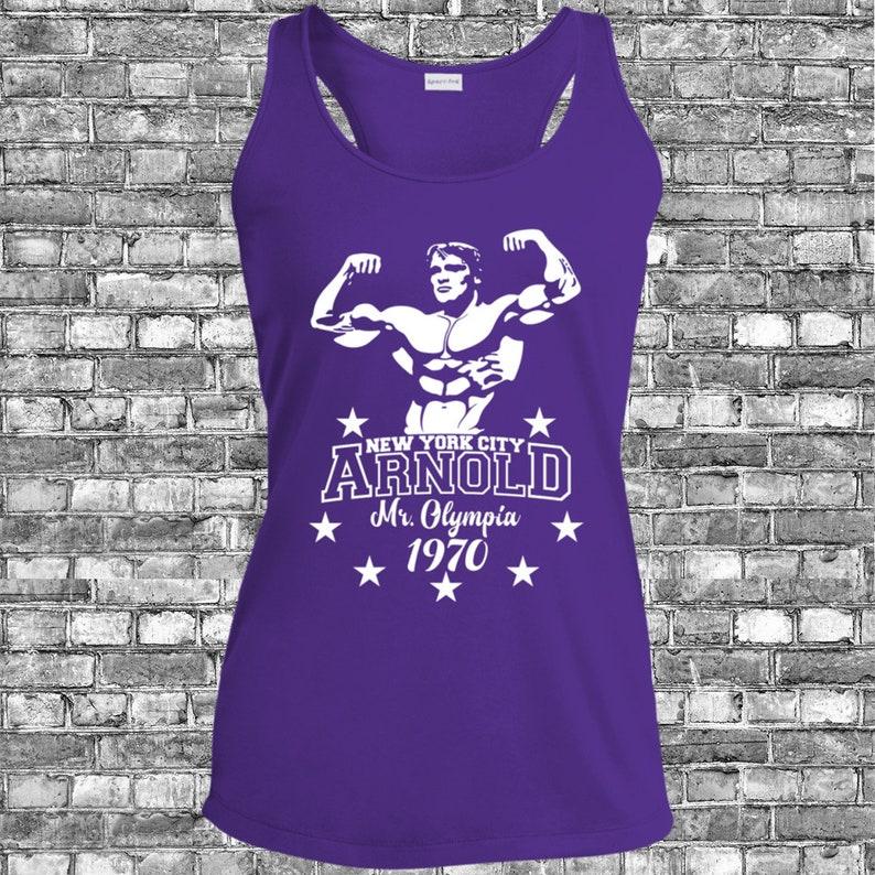 aa19e624c Arnold Schwarzenegger shirt Gym Tank Gym Shirts Tanks Workout | Etsy