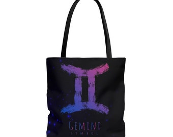 29a1739ba12d Gemini Horoscope Aop Tote Bag