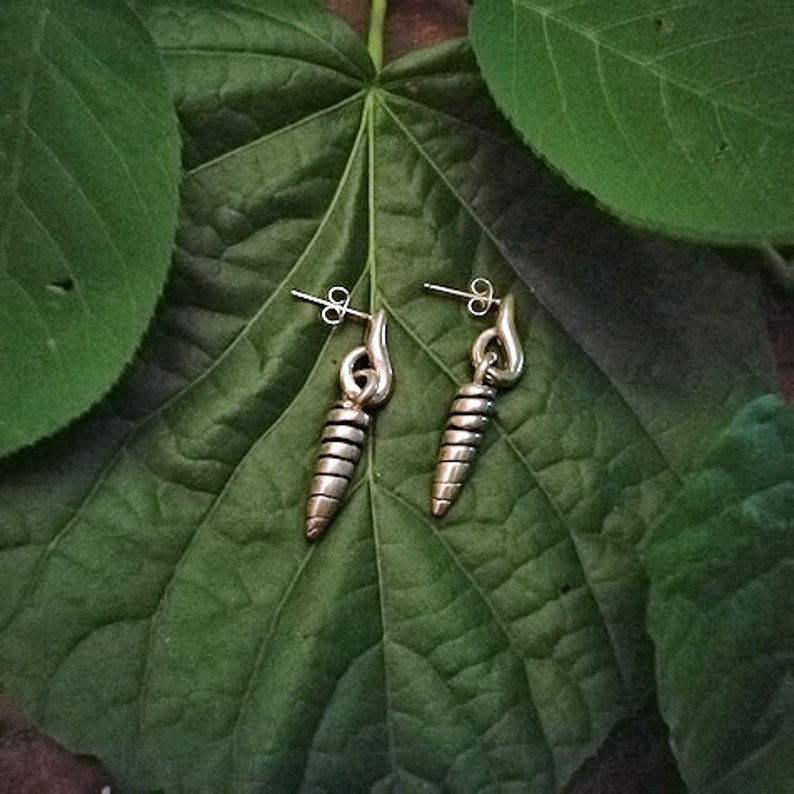 Unique Gift Idea Sterling Silver Tribal Elements Handmade /'Honey Comb Drop Earrings For Her,Gift For Her Women/'s Jewelry Silver Earrings