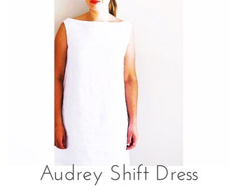 Audrey Shift Dress PDF Sewing Pattern