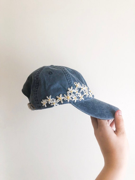 Hand Embroidered Hat - custom embroidered hat - fl