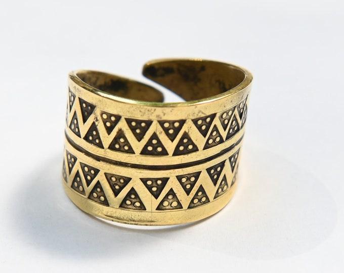 Viking ring, bronze replica from Truso Poland, SCA, LARP