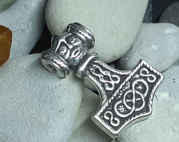 THOR HAMMER Silver Replica from Erikstrop East Gotland Sweden