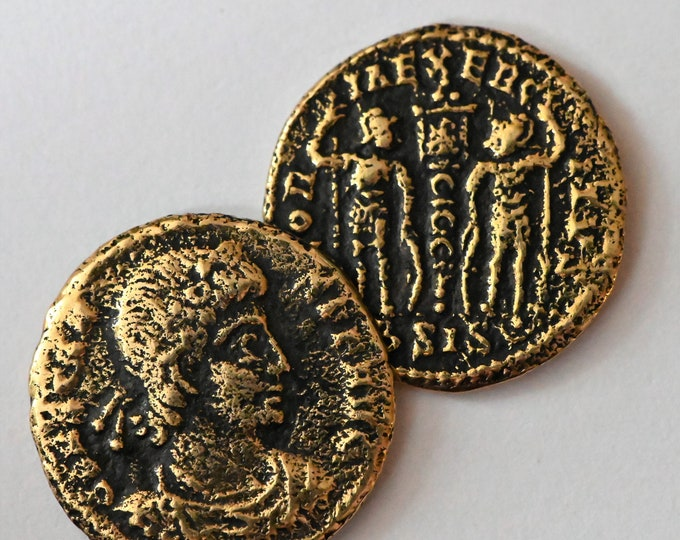 Cententionalis FLAVIUS JULIUS CONSTANS Roman Coin Bronze Copy