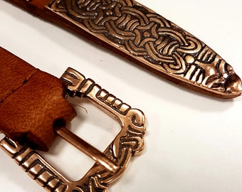Buckle and Belt End for Viking BELT replica from Birka, Sweden