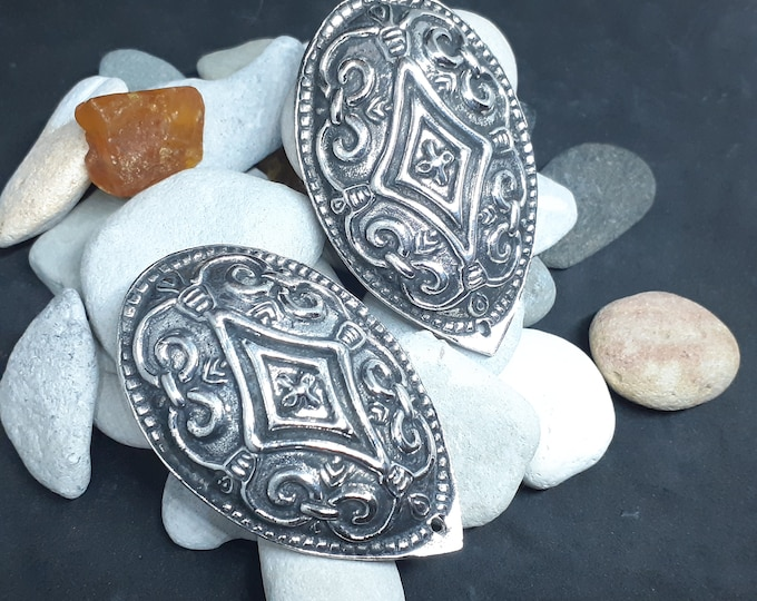 TURTLE BROOCHES Silver Replica from Lithuania