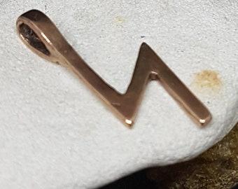 Rune SOWILO Bronze Pendant - Norse Elder Futhark