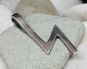 Rune Pendant SOWILO Sterling Silver Norse Elder Futhark