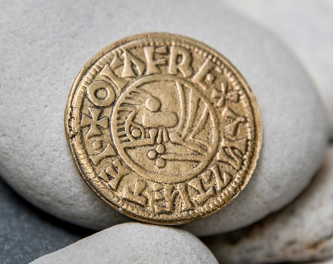 Viking Coin Bronze Replica from Sweden, England