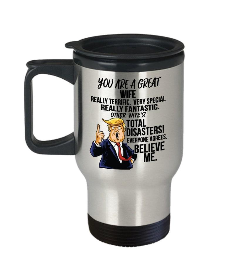 Funny fantastique Papa Tasse À Café papa Trump Cadeaux meilleur papa jamais cadeau d/'anniversaire
