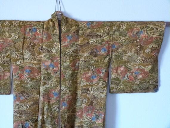 Vintage kimono, vintage japanese kimono,kimono jac