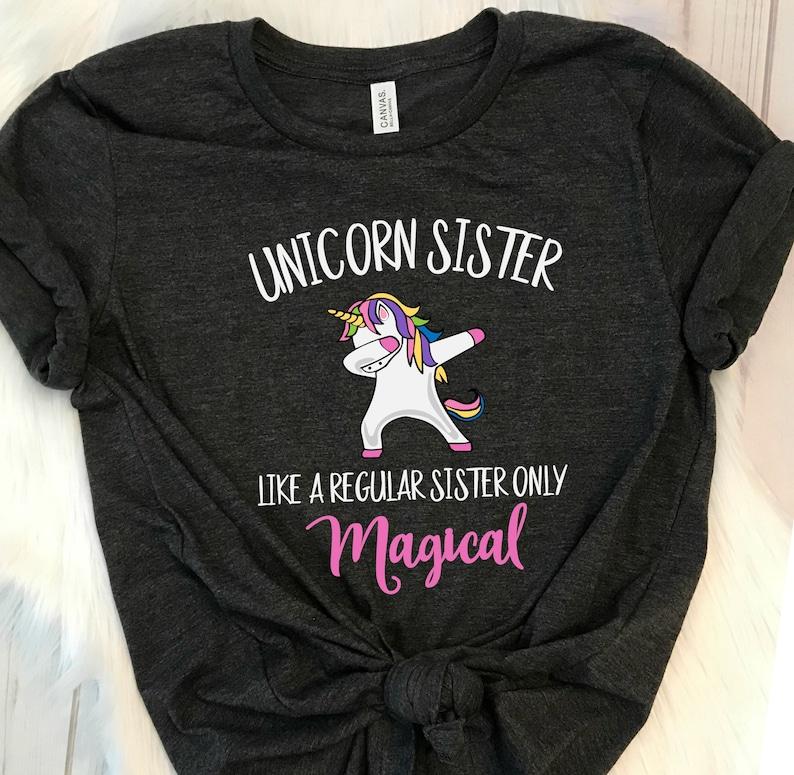 d898c46eb55d Dabbing Unicorn, Unicorn Sister, Funny Unicorn, Love Unicorns, Womens  Unicorn Shirt, Magical Unicorn Gift, Unicorn Dabbing, Unicorn Tshirt