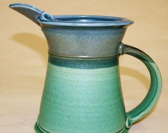 Studio Pottery Thrown Jug - J3