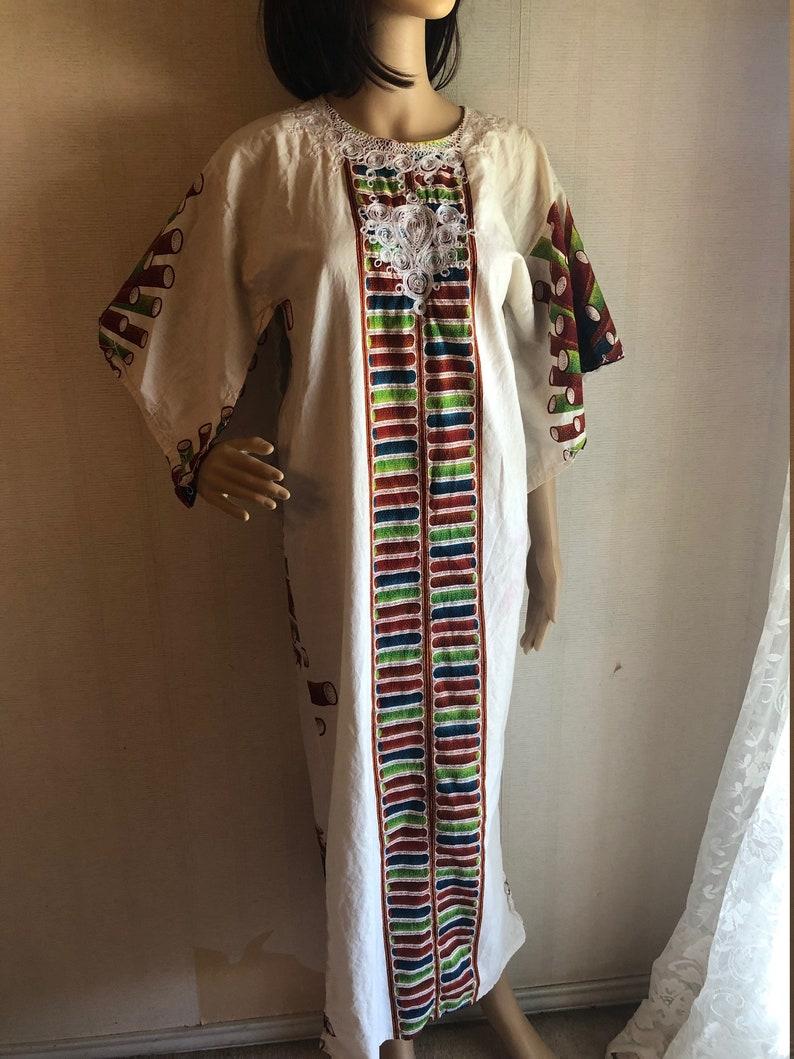 Vintage Festival Robe Caftan S