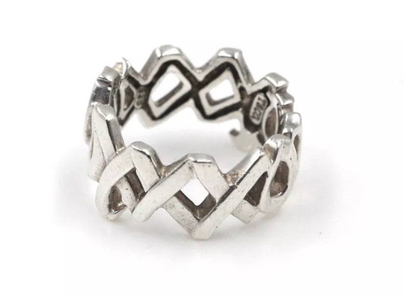 e9139a0cb321 Tiffany Ring Paloma Picasso Wide Sterling Silver XOXO Hugs and