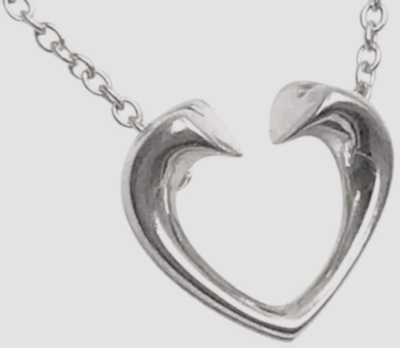 3867ef509c0 TIFFANY Paloma Picasso Tenderness Heart Sterling Silver Charm