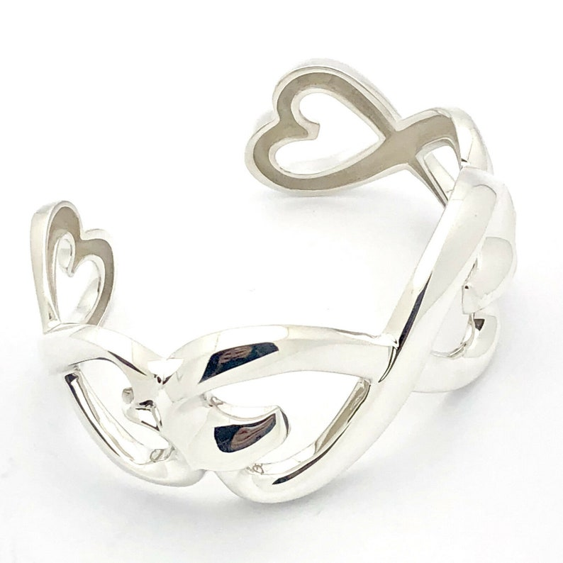 d67ef5958a23 Tiffany Rare Double Loving Heart Paloma Picasso Sterling