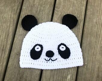Ravelry: Boy wearing Panda Hat pattern by snacksies snacksies | 270x340