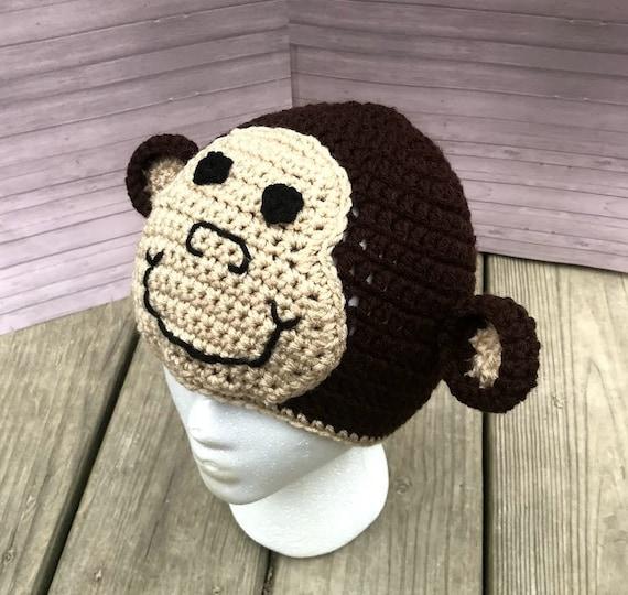 Affe-Mütze häkeln | Etsy