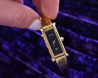 5af22dd81e0 Vintage Gucci Gold Plated Watch