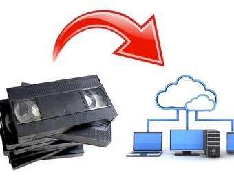 Transfer VHS Tapes to Digital Download