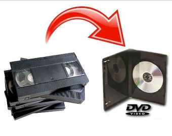 Transfer VHS Tapes to DVD