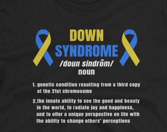 Down Syndrome Definition Short-Sleeve Unisex T-Shirt Down | Etsy