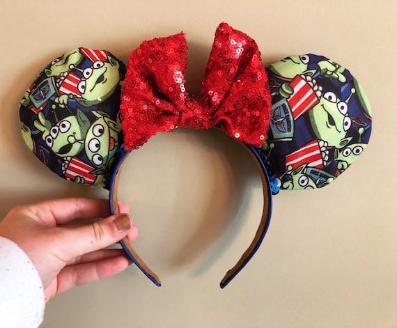 OooOooo Green Alien inspired Minnie Ears