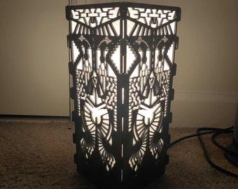 Dark Mecha RGB mood lamp