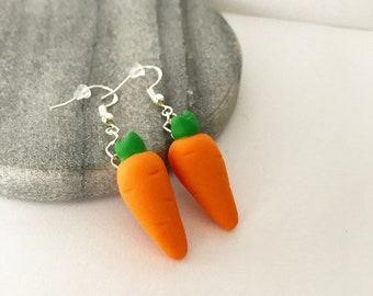 Carrot Drop Earrings