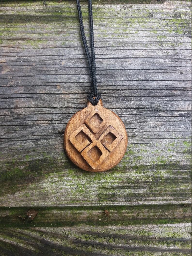 Wooden Pendant Dajbog Pendant Slavic Mythology Slavic Pendant Pagan Pendant Gift Necklace Pendant Dazbog Pendant Pagan Necklace