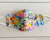 Sailor Scouts Adjustable Pleated or Fitted 3-Layer Face Mask, Filter Pocket (PM 2.5 Filters Available) Australian Made