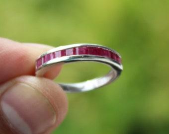 Ruby Wedding Rings.Ruby Wedding Ring Etsy